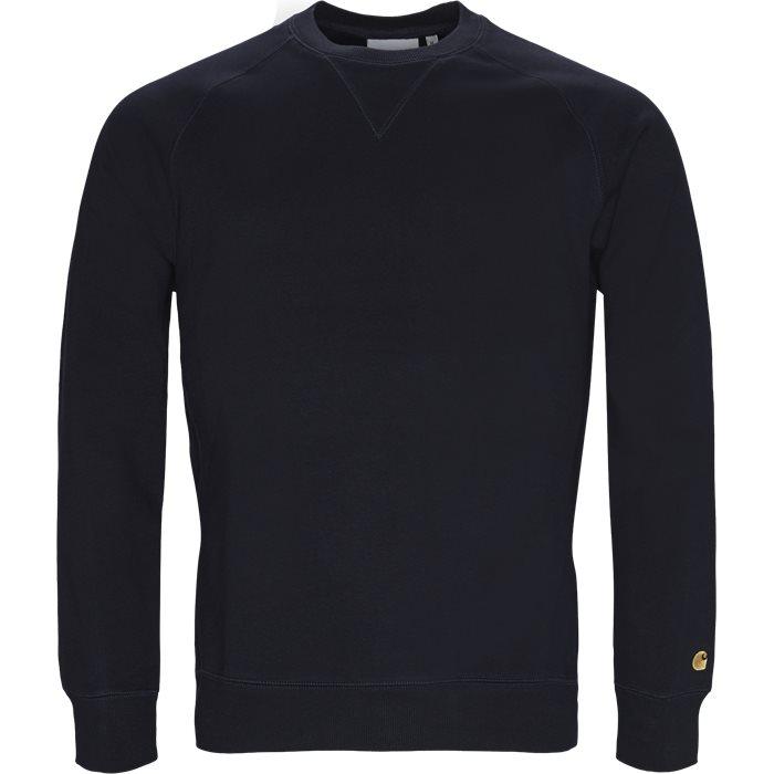 Chase Crew Neck Sweatshirt - Sweatshirts - Regular - Blå